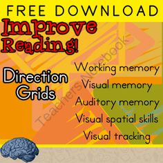 Improve Reading | Therapeutic  Activity ---- FREE VERSION from Selma Dawani on TeachersNotebook.com -  (12 pages)  - IMPROVE YOUR STUDENTS READING in 12 WEEKS! 5 sessions a week (10-15 minute sessions)  I have been using this method for years and it works!  It is a perfect edition to any academic remediation!!  Working memory  Visual memory or Auditory memory  Visual sp