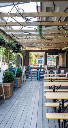 Local city guide—New York City. The Chester: Meatpacking District. (What we love: Drinks outside with views of the cobblestoned Meatpacking streets- try the Bold Ginger).