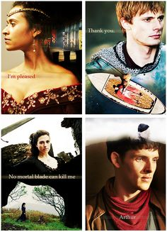 Last words (Gwen, Arthur, Morgana and Merlin)