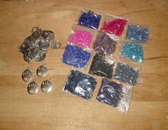 some goodies that came in the mail today Beading Supplies, Druzy Ring, Goodies, Beads, Bracelets, Rings, Jewelry, Sweet Like Candy, Beading