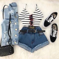 Laksmi Dresses Casual Sleeveless Cocktail - Now Outfits Teen Fashion Outfits, Look Fashion, Outfits For Teens, Stylish Outfits, Girl Outfits, Cute Summer Outfits, Short Outfits, Pretty Outfits, Mode Rockabilly