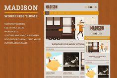 Madison - WordPress Theme by ansimuz on @creativemarket