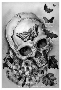 ideas tatuajes calaveras (50)