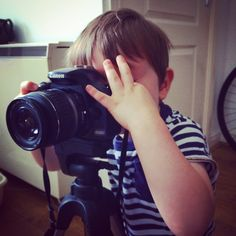 Oliver the photographer