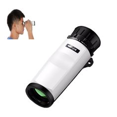 Sale 13% (25.99$) - BIJIA 10X Waterproof Monoculars 10x32 High Definition Telescope Travel Camping Hiking Scope