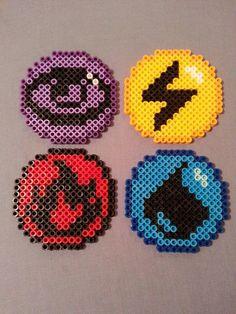Pokemon Energy Symbol Magnets & Coasters by AshMoonDesigns on Etsy, $3.50