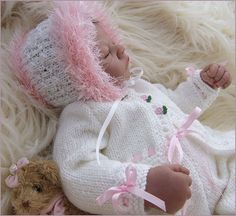 Baby Girls Instant Download PDF Knitting by PreciousNewbornKnits, £4.63