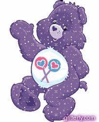 Glitter Bears | Glitterfy.com - Care Bear Glitter Graphics | Facebook, Tumblr, Orkut