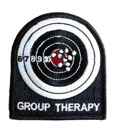 The Tactical US Made Group Therapy Combat Army Morale Velcro Patch Velcro Patches, Cool Patches, Pin And Patches, Biker Patches, Cool Stuff, Man Stuff, Funny Stuff, Tactical Patches, Tactical Gear