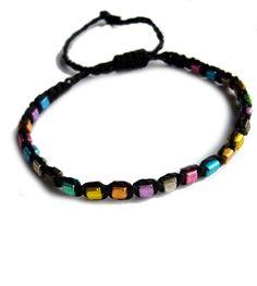 *+Flechtarmbändchen+Regenbogen+*+von+crochet.jewels+auf+DaWanda.com