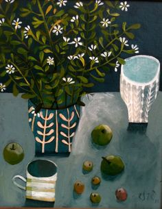 Untitled still life by South-African born, England-based artist Este MacLeod. via the artist