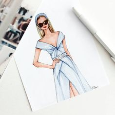 Style of Brush by Gizem Kazancıgil #fashionillustration gizem kazancigil