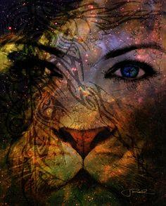 Archangel Ariel - the blue eye
