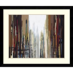 Gregory Lang 'Urban Abstract No. 159' Framed Art Print | Overstock.com Shopping - Top Rated Prints