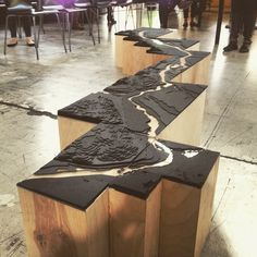 #nextarch by @pdxriverstory2015 #next_top_architects Portability was key for this model of the #WillametteRiver