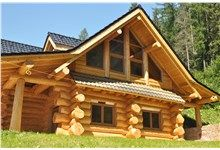 Kanadský srub u Bruntálu Home Fashion, Cabin, House Styles, Home Decor, Projects, Homemade Home Decor, Interior Design, Cottage, Home Interiors