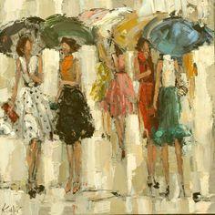 impressionism portrait art by the masters | Kathryn Morris Trotter | American Impressionist Knife painter | Paris ...