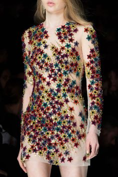 Details from Blumarine Fall/Winter 2015 at Milan Fashion Week
