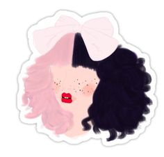 """Dollhouse Melanie"" Stickers by AudrieB | Redbubble"
