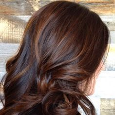 Chocolate Swirl by Salon eLLe stylist, Kerri.  #salonelle #aveda #avedacolor #avedasalon #avedastylist #oldtowncamarillo