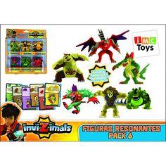 Juguete INVIZIMALS PACK 6 FIGURAS RESONANTES Precio 29,14€ en IguMagazine #juguetesbaratos