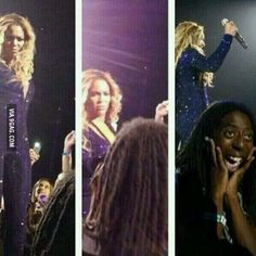 """""""Oh my god she stared at me!"""""""