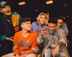 When your friends let you swipe right for them | Catch up with the qts in @prettymuch at artisttowatch.mtv.com!