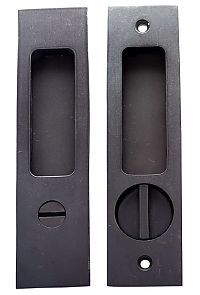Privacy Pocket Door Hardware cs-fp450ml locking pocket door set | door sets, pocket doors and