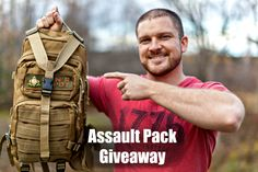 3 Day Assault Pack Giveaway!