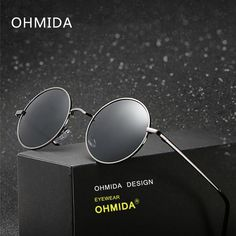 OHMIDA New Fashion Sexy Round Sunglasses Women Men Brand Designer Polarized Lens Sun Glasses Female Polarize Shades UV400