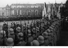 Flag Ceremony and Swearing-In of Recruits in Berlin (November 7, 1935)