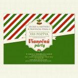 Pozvite hostí na firemnú vianočnú párty vo veľkom štýle s našou jedinečnou pozvánkou.