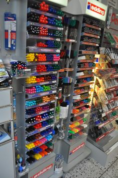 office supplies for businesses: Stationery Store Series: Hennig of Düsseldorf, Germany