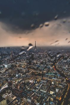 Rainy Paris Afternoon - by: Darwin E