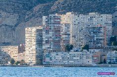 Fachada de la Albufereta #Alicante
