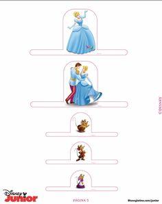 Cinderella Castle - page 5 of 5 Cinderella Crafts, Cinderella Birthday, Princess Birthday, Disney Princess Castle, Cinderella Castle, School Holiday Activities, Disney Princesses And Princes, Paper Toys, Paper Craft
