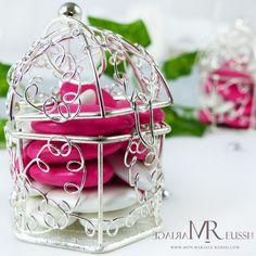 Cage à oiseaux argentées pour de jolis cadeaux invités