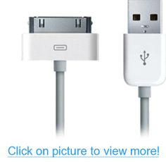 USB Sync and Charging Cable Compatible with Apple iPhone (White) #USB #Sync #Charging #Cable #Compatible #Apple #iPhone #White