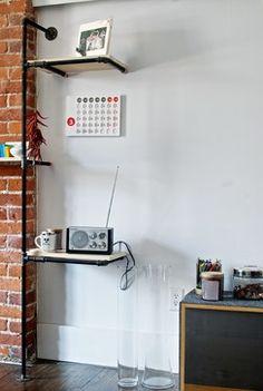 Shelving Detail - modern - living room - toronto - Andrew Snow Photography