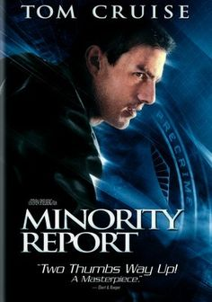 """Minority Report (2002) Tom Cruise plays John Anderton, a top """"Precrime"""" cop in the late-21st century, when technology can predict crimes before they're committed. But Anderton becomes the quarry when another investigator (Colin Farrell) targets him for a murder charge. Can Anderton find a glitch in the system and prove his innocence before it's too late? Steven Spielberg directs this adaptation of Philip K. Dick's novel, which co-stars Samantha Morton and Max von Sydow."""