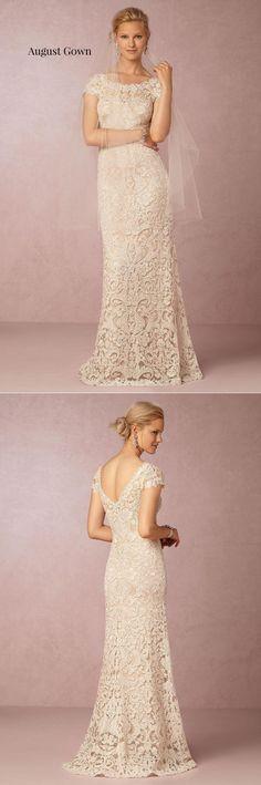 BHLDN August Gown|10 Must-See Wedding Dresses Under $1000