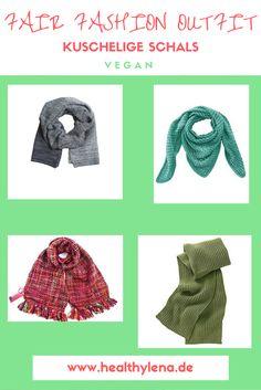 Die kuscheligen veganen Fair Fashion Schals versüßen euch den Herbst!