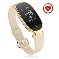 #cart #store #proshopping Fitness Tracker for women Activity Watch and Heart Rate Monitor IP67 Waterproof Smart Bracelet with Sleep Monitor Pedometer Calorie Compatible with Android and IOS Smartphone(Gold) #greatdeals #cyber