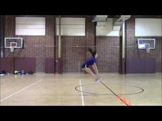 Women's Volleyball Plyo Workout - YouTube