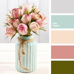 """""""dusty """" blue color, """"dusty"""" pink color, beige color, blue color, color of peonies, color selection in the interior, cream color, gray-purple color, olive color, pale purple color, pink color, purple color."""