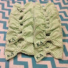 kappa delta hair bows