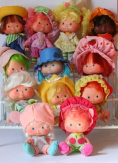 strawberry shortcake rag doll with rubber head - Google Search