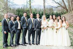 The #wedding party! Photo by Mary Stafford Photography. #bridesmaids #groomsmen #weddinginspiration