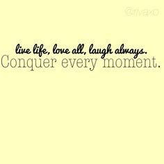Quote. Live, love, laugh.