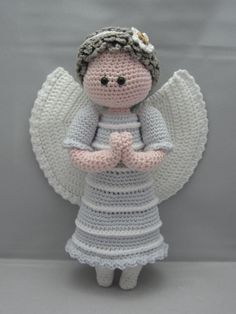 Ángel de la guarda descarga inmediata Amigurumi por NenneDesign